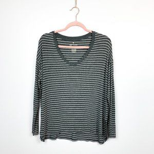 American Eagle Soft n Sexy Casual Striped Top